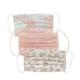 Kitsch Blush 3-Pack Cotton Face Masks