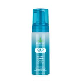 Hempz CBD Clean Sweep Foaming Facial Cleanser