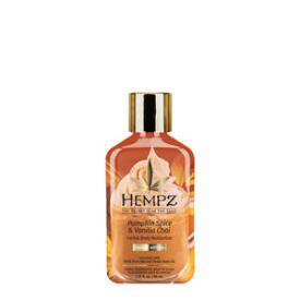 Hempz Limited Edition Pumpkin Spice & Vanilla Chai Herbal Body Moisturizer Travel Size