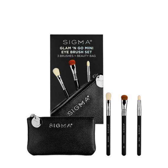 Sigma Beauty Glam N Go Mini Eye Brush 4-pc Set