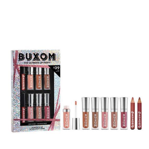Buxom Ultimate Lip Party 8-pc Plumping Lip Set