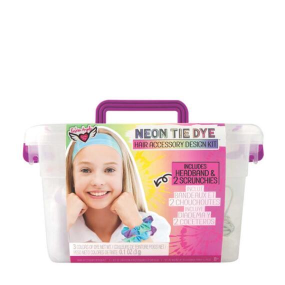 Fashion Angels Tie Dye Hair Accessory Kit