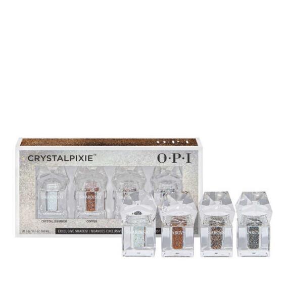 OPI Shine Bright Holiday Collection OPI x Swarovski 4-pc CrystalPixie Set