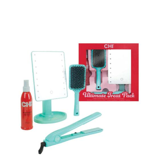 CHI 4-pc Ultimate Treat Set - 1 Ceramic Styling Iron