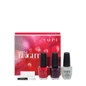 OPI Shine Bright Holiday Collection 5-pc Nail Lacquer Set