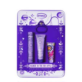 Amika Blonde in the Big Apple 3-pc Blonde Wash + Care Set
