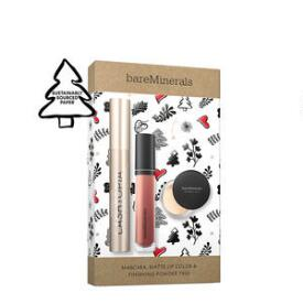 bareMinerals 3-pc Mascara, Matte Lip Color & Finishing Powder Trio