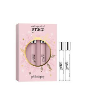 philosophy stockings full of grace 2-pc rollerball set