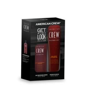 American Crew Firm Hold Styling Gel & Daily Moisturizing Shampoo Duo