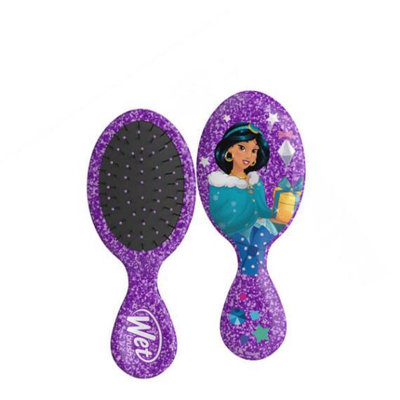 The Wet Brush Disney Glitter Holiday Collection Mini Original Detangler Brush - Jasmine