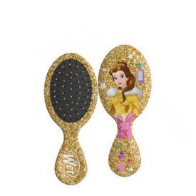 The Wet Brush Disney Glitter Holiday Collection Mini Original Detangler Brush - Belle