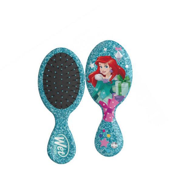 The Wet Brush Disney Glitter Holiday Collection Mini Original Detangler Brush - Ariel