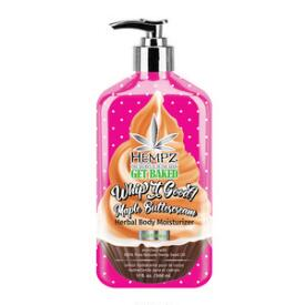 Hempz Holiday Limited Edition Whip It Good! Maple Buttercream Herbal Body Moisturizer