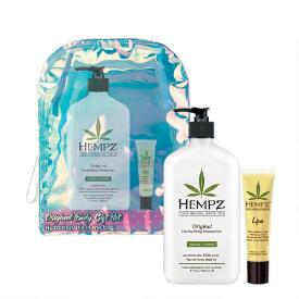 Hempz Holiday Limited Edition 2-pc Original Herbal Body Moisturizer & Lip Balm Set