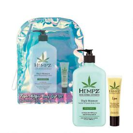 Hempz Holiday Limited Edition 2-pc Triple Moisture Herbal Body Moisturizer & Lip Balm Set