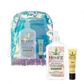 Hempz Holiday Limited Edition 2-pc Pink Pomelo & Himalayan Sea Salt Herbal Body Moisturizer & Lip Balm Set