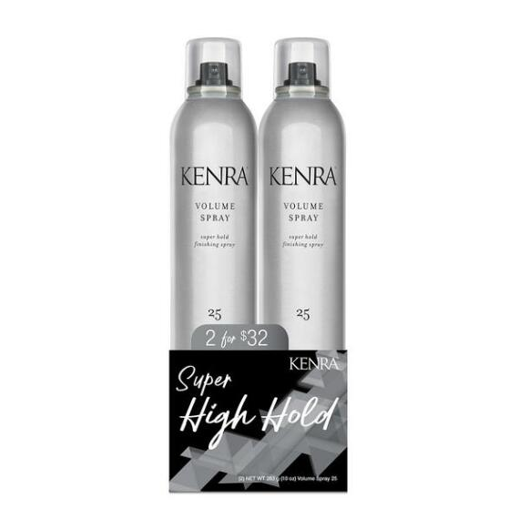 Kenra Volume Spray 25 Super Hold Finishing Spray Holiday Duo