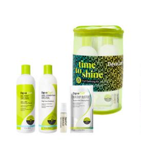 DevaCurl Time to Shine Curl Defining Kit for Curly Hair