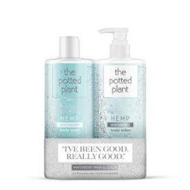 The Potted Plant Winterberry Moisturizer & Shower Gel Duo
