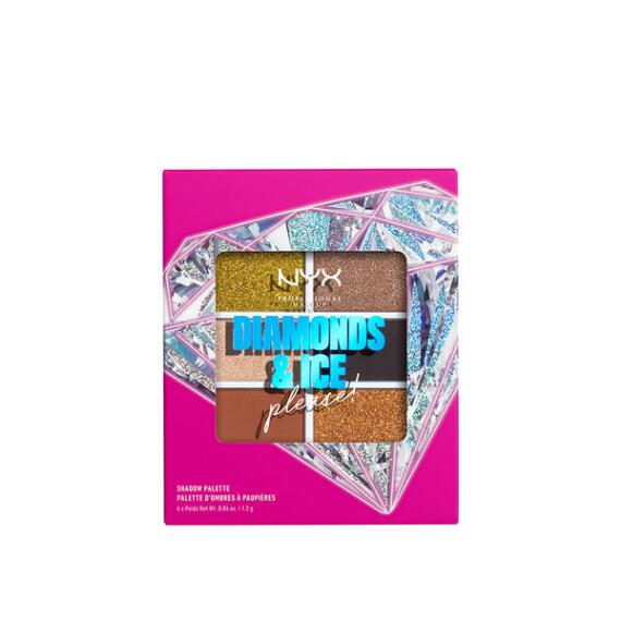 NYX Diamonds & Ice, Please 6-Pan Shadow Palette