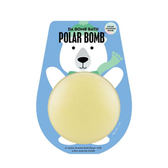 Da Bomb Holiday Color Changing Polar Bear Bath Bomb