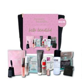 Beauty Brands Hello Beautiful 13-pc Discovery Bag