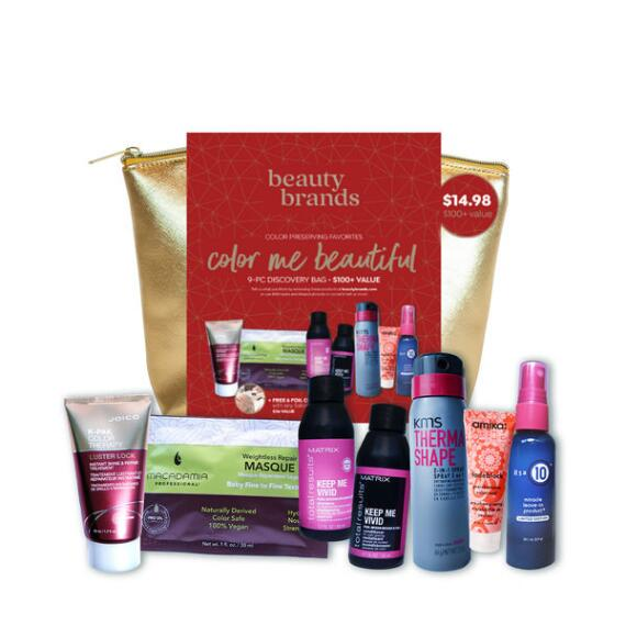 Beauty Brands Color Me Beautiful 9-pc Discovery Bag