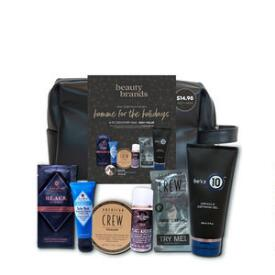 Beauty Brands Homme for the Holidays 8-pc Discovery Bag