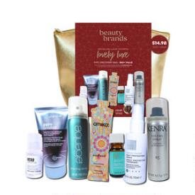 Beauty Brands Lovely Luxe 9-pc Discovery Bag