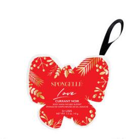 Spongelle Love Butterfly Holiday Ornaments - Currant Noir