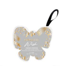 Spongelle Wish Butterfly Holiday Ornaments - French Mimosa