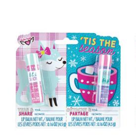 Fashion Angels Tis the Season Tear & Share Lip Balm Duo