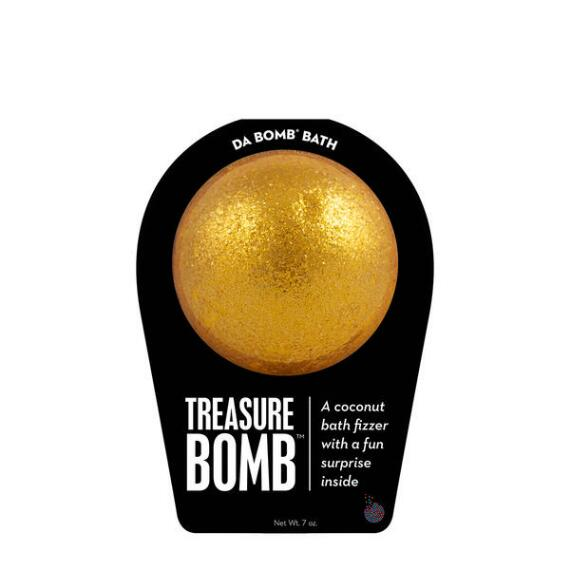 Da Bomb Treasure Bath Bomb