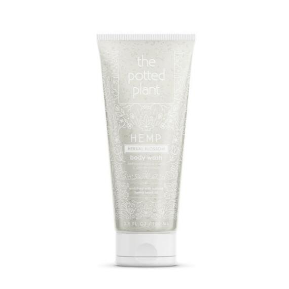 The Potted Plant Herbal Blossom Hemp-Enriched Herbal Body Wash Travel Size