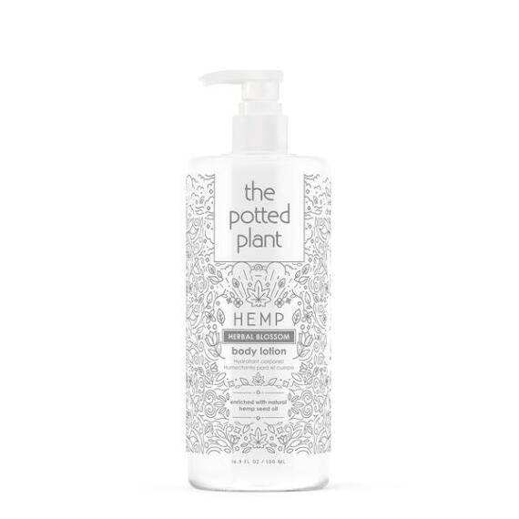 The Potted Plant Herbal Blossom Hemp-Enriched Body Lotion