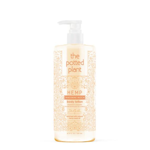 The Potted Plant Tangerine Mochi Hemp-Enriched Body Lotion