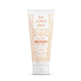 The Potted Plant Tangerine Mochi Hemp-Enriched Body Lotion Travel Size
