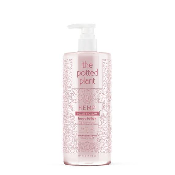 The Potted Plant Plums & Cream Hemp-Enriched Body Lotion
