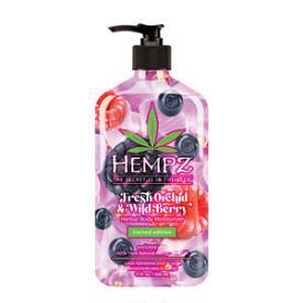 Hempz Limited-Edition Fresh Orchid & Wild Berry Herbal Body Moisturizer