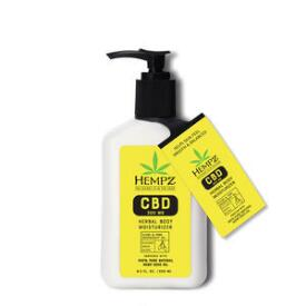 Hempz Herbal Body 300mg CBD Aromatherapy Elemi & Pink Grapefruit Oil Lotion