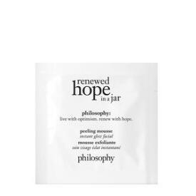 philosophy Renewed Hope in a Jar Peeling Mousse Instant Glow Facial GWP