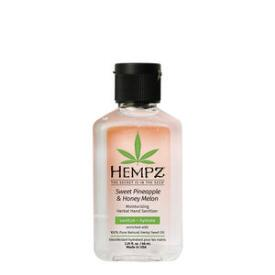 Hempz Sweet Pineapple & Honey Melon Moisturizing Herbal Hand Sanitizer Travel Size
