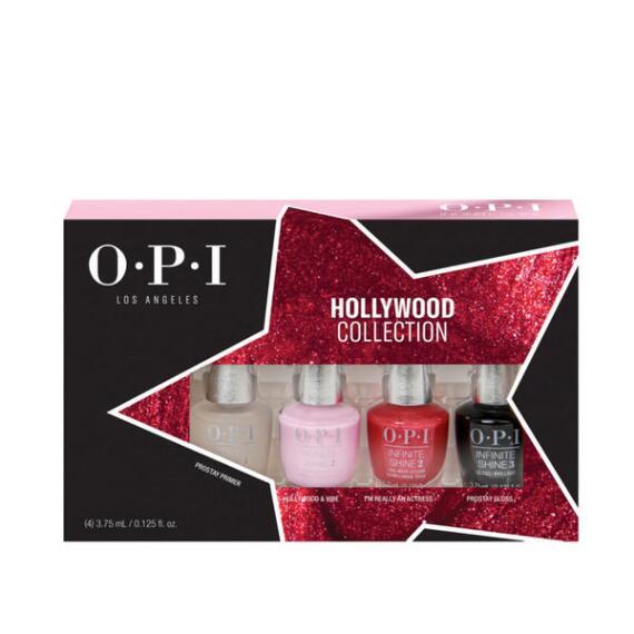 OPI Infinite Shine Hollywood Collection 4pc Minis Set