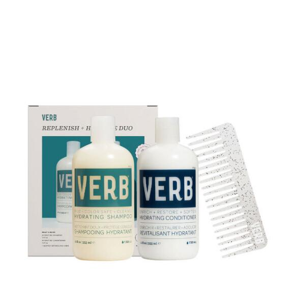 Verb Replenish + Hydrate Shampoo & Conditioner Duo