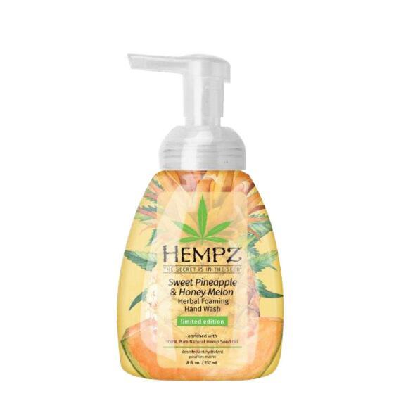 Hempz Sweet Pineapple & Honey Melon Herbal Foaming Hand Wash