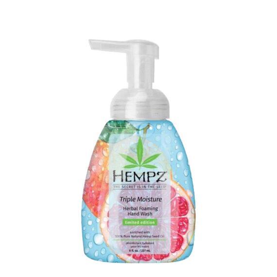 Hempz Triple Moisture Herbal Foaming Hand Wash