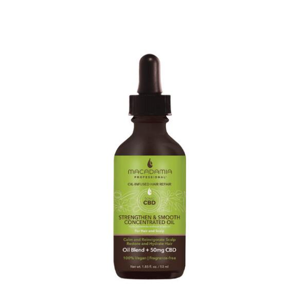Macadamia Professional Strengthen and Smooth Concentrated Oil with CBD