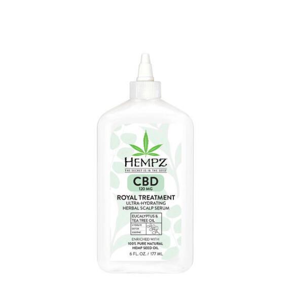 Hempz Royal Treatment CBD 120mg Ultra-Hydrating Herbal Scalp Serum