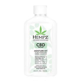 Hempz CBD Moisture Hit Ultra-Hydrating Herbal Shampoo