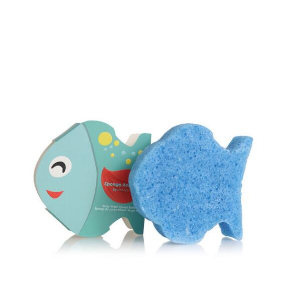 Spongelle Kids Animal Sponge - Fish